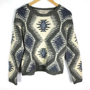 The Limited Vintage Southwestern Wool Knit Sweater